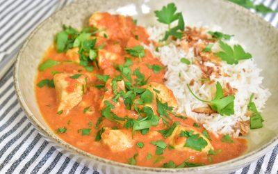 Kycklinggryta med smak av garam masala