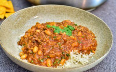 Chili con carne med koriander