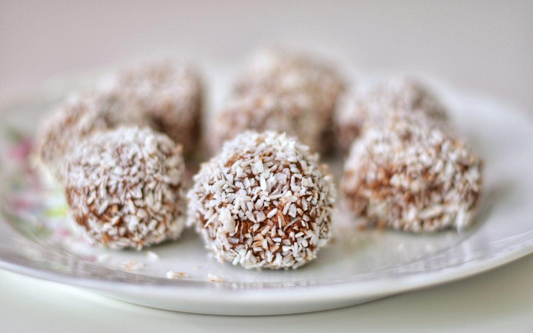 Chokladbollar med chokladägg