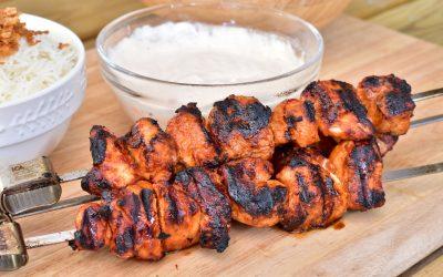 Kycklingspett med sambal oelek