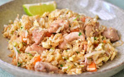 Fried rice med kyckling