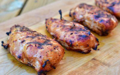 Ingefärsmarinerad kyckling