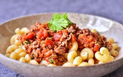 Köttfärssås med asiatiska smaker